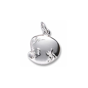 Baby's Face Charm by Forever Charms - Personalized