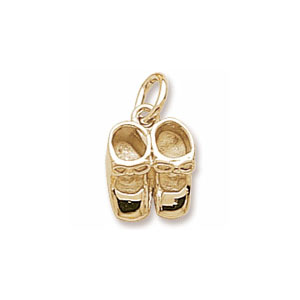Baby Shoes 3D Charm by Forever Charms