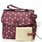 Babymel Satchel Jumbo Dot�Cherry Diaper Bag - click to Enlarge