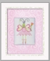 Ballerina Butterfly - Ballerina Framed Canvas Wall Art - click to Enlarge