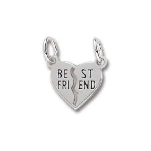 Best Friend Charm by Forever Charms - Personalized