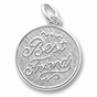 Best Friends Charm by Forever Charms - Personalized - click to Enlarge