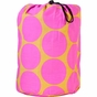Big Dots Hot Pink Kids Sleeping Bag - click to Enlarge