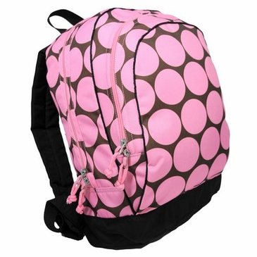 Big Dots Pink Kids Backpack