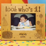 Birthday Milestones Wooden Picture Frame