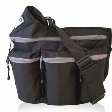 Black Diaper Dude Bag