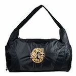 Black Personalized Hobo Duffel Bag