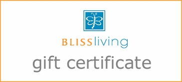 Bliss Living Gift Certificate for $25