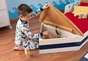Boat Toddler Bed - click to Enlarge