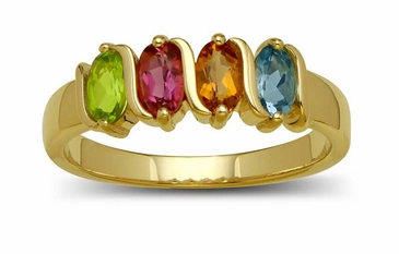 Brilliant Fairytale Gemstone Ring