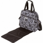 Brittany Backpack Lace Floral Diaper Bag by Bumble Bags - click to Enlarge