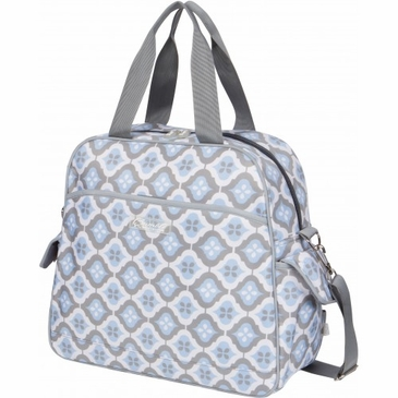 Brittany Backpack Sky Blue Montage Diaper Bag by Bumble Bags