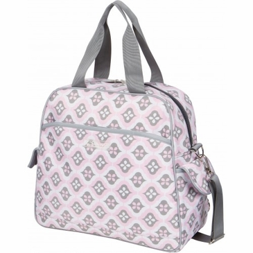 Brittany Backpack Sweet Blush Montage Diaper Bag by Bumble Bags