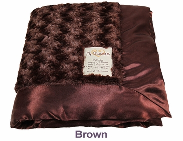 Brown Snail Blanket by My Blankee
