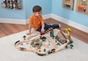 Bucket Top Construction Train Set - click to Enlarge