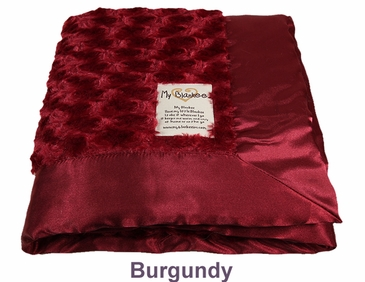 Burgundy Snail Blanket by My Blankee