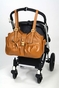 Caryn Espresso/Black Diaper Bag by Mia Bossi (SALE) - click to Enlarge