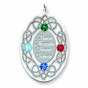 Celtic Knot Birthstone Pendant - Personalized - click to Enlarge