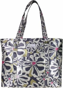 Charcoal Floral Austin Baby Bag by Amy Michelle