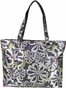 Charcoal Floral Austin Baby Bag by Amy Michelle - click to Enlarge