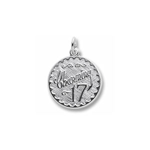 Charming 17 Charm by Forever Charms - Personalized
