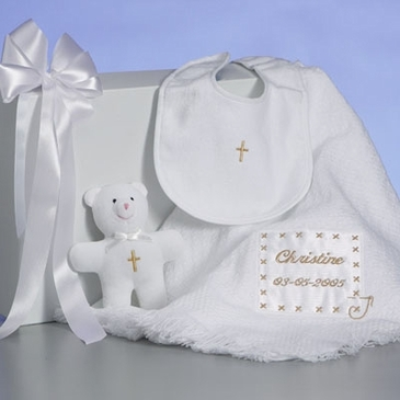 Christening Blanket (Personalized)