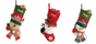 Christmas Stockings with Jingle Bell - click to Enlarge
