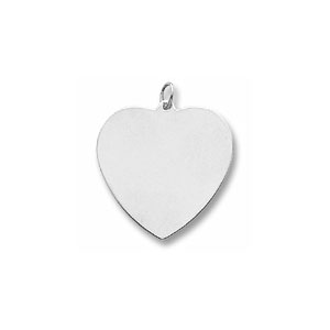 Classic Extra Large Heart Charm by Forever Charms - Personalized