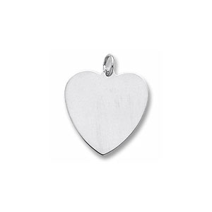 Classic Heart Medium Charm by Forever Charms - Personalized