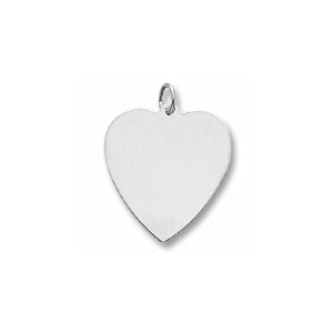 Classic Large Heart Charm by Forever Charms - Personalized