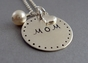 Classic Mom Sterling Silver Necklace - click to Enlarge