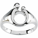 Classic Mother and Child Ring