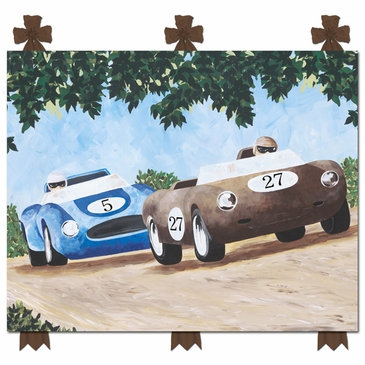 Classic Roadster I Stretched Art Personalized by Dish and Spoon