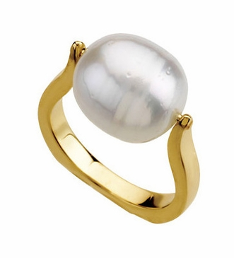 Classic Sea Cultured Pearl Ring