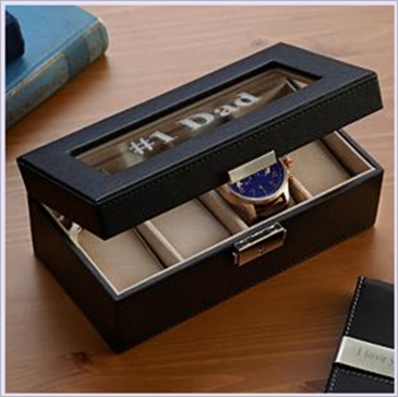 Compact Monogram Watch Box