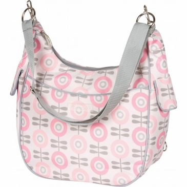 Cora Convertible Modern Floral Diaper Bag by Bumble Bags