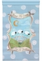 Count The Sheep Tranquil Blue Wall Hanging Personalized by Dish and Spoon - click to Enlarge