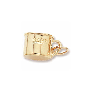 """Cup Charm with """"Baby"""" by Forever Charms"""