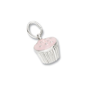 Cupcake Pink Charm by Forever Charms
