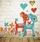Deerly Beloved - Peel & Place Wall Art - click to Enlarge