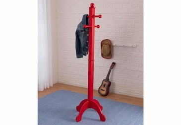 Deluxe Clothes Pole - Red