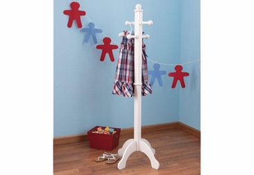 Deluxe Clothes Pole - White