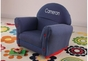 Denim Rocker with Slip Cover - click to Enlarge