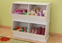 Double Storage Unit - White - click to Enlarge