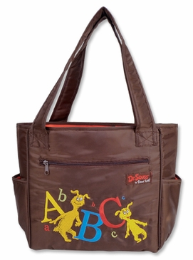 Dr. Seuss Abc Tulip Diaper Tote Bag