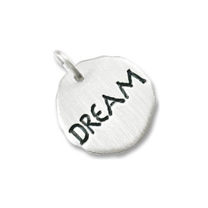 Dream Tag Charm by Forever Charms - Personalized
