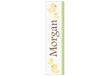 Ducks Growth Chart Personalized