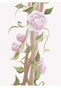 English Roses Arbour Wall Hanging Personalized by Dish and Spoon - click to Enlarge