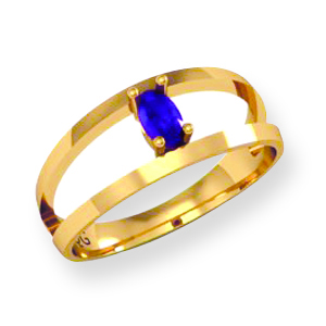 Family Marquise Birthstone Ring