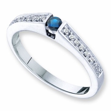 Family Traditions Birthstone and Diamond Ring - with Genuine Stones